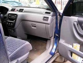 Садимся на пассажирское место Honda CRV II