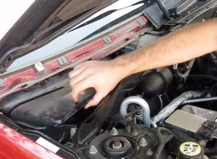 Салонный фильтр форд куга замена