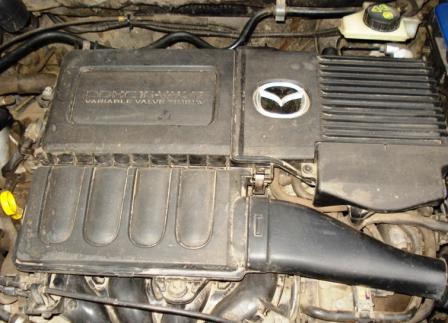 Двигатель Z6 Mazda 3 1.6