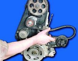 Снимаем ремень ГРМ ВАЗ 2108, 2109, 21099