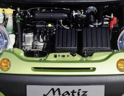 Замена масла в двигателе Daewoo Matiz
