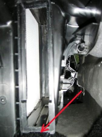 Установка салонного фильтра на рено сандеро 3 фотография