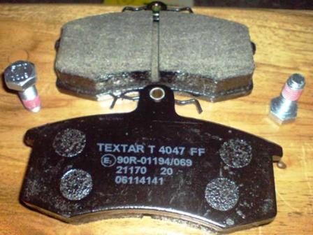 Снятие и замена передних тормозных колодок ВАЗ 2110, 2111, 2112