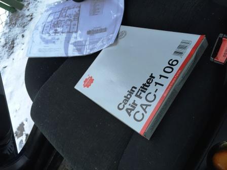 Снятие и замена салонного фильтра Toyota Corolla E120