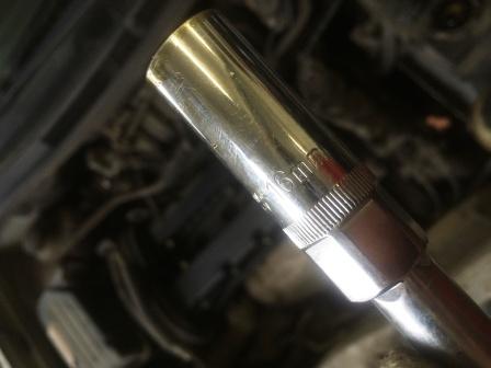 Свечной ключ на 16 Chevrolet Aveo T250
