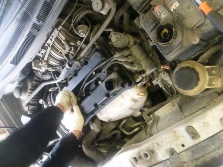 Одеваем катушки зажигания Chevrolet Aveo T250
